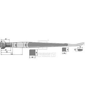 Spjut Skedformat M30 1100mm Kverneland