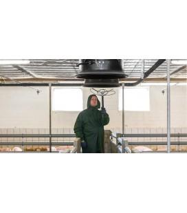 Ventilationstvätt 5m, KEW koppling, 20-30l/min
