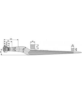Spjut M22 600 mm Weidemann