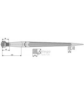 Spjut M22 600 mm nr 9,10,31 Schäffer Weidemann