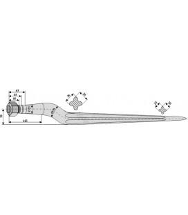 Spjut M22 810 mm nr 9,10,31 Weidemann Von der Heide
