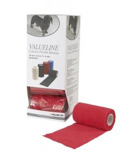 VetFlex förband elast självh röd 10cmx4,5m 10st