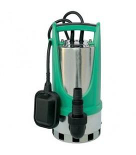 Altech Dränkbar pump i rostfritt 1,1kw med vippa