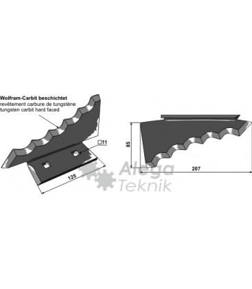 Kniv Foderblandare Keenan Vä 207mm Tjocklek 6mm