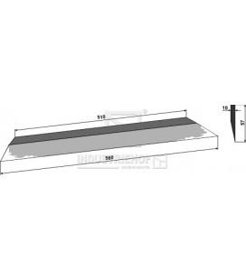 Sidkniv för ensilage urtagare Ålö 580mm