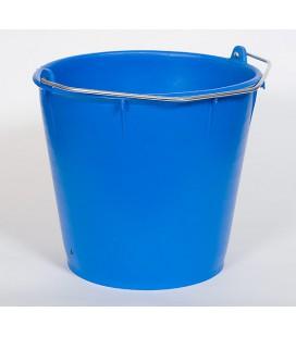 Hink 7l plast, blå