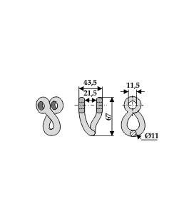 Schakel Votex 11mm vriden