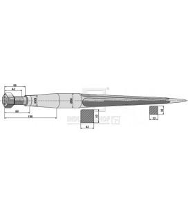 Spjut M28 980mm nr36 Kverneland