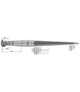Spjut M28 1400 mm nr 36 Kverneland