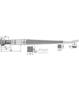 Spjut M30 1400 mm Kverneland