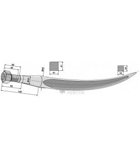 Spjut M30 940 mm Kverneland
