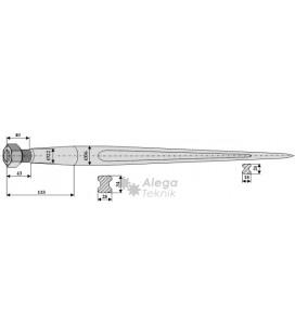 Spjut M22 810 mm nr 9,10,31 Weidemann Trima Bressel