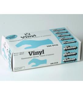 Undersökningshandskar vinyl 100st/fp L
