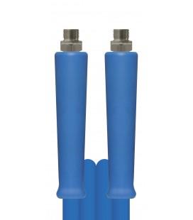 Högtrycksslang Hetvatten blå 400bar 2SC 3/8 3/8utv-3/8utv