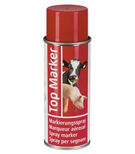 Märkspray TM Röd 400ml 12st/fp