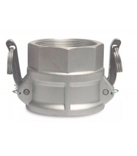 Camlock Aluminium 2´ hona x inv gänga Typ D